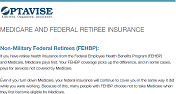 MEDICARE AND FEDERAL RETIREE INSURANCE
